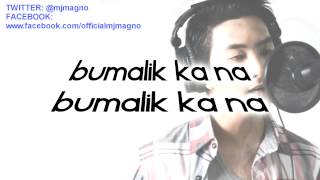 On Bended Knee Tagalog Version - (LYRICS) Patawarin Mo by MJ Magno