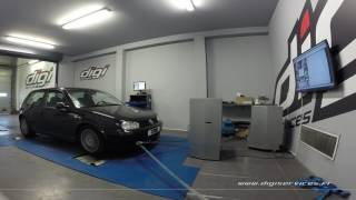 VW Golf 4 1.8 turbo 150cv Reprogrammation Moteur @ 165cv Digiservices Paris 77 Dyno
