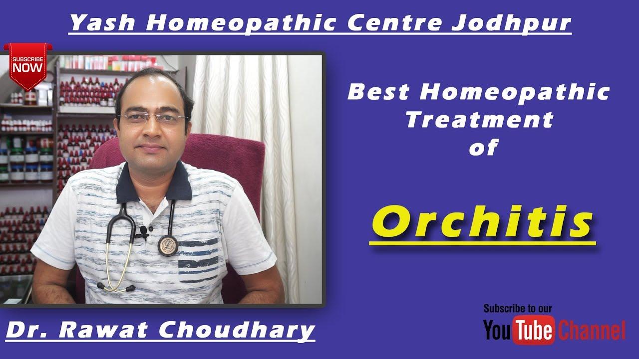 Best Homeopathic Treatment of Orchitis | ऑर्किटिस का सबसे अच्छा होम्योपैथिक  उपचार