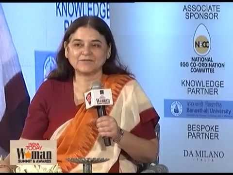 Need to give women economic and educational confidence, says Maneka Gandhi