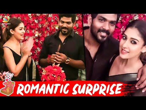 Nayanthara Shocks!!! Vignesh Shivan : Birthday Blast | Hot Tamil Cinema News