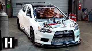 World Challenge Evo Racecar Gone Wild! 680hp, Widebody, And Track Ready
