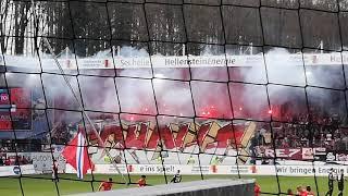 1. FC Heidenheim gegen 1. FC KÖLN 07.04.2019 Voith Arena