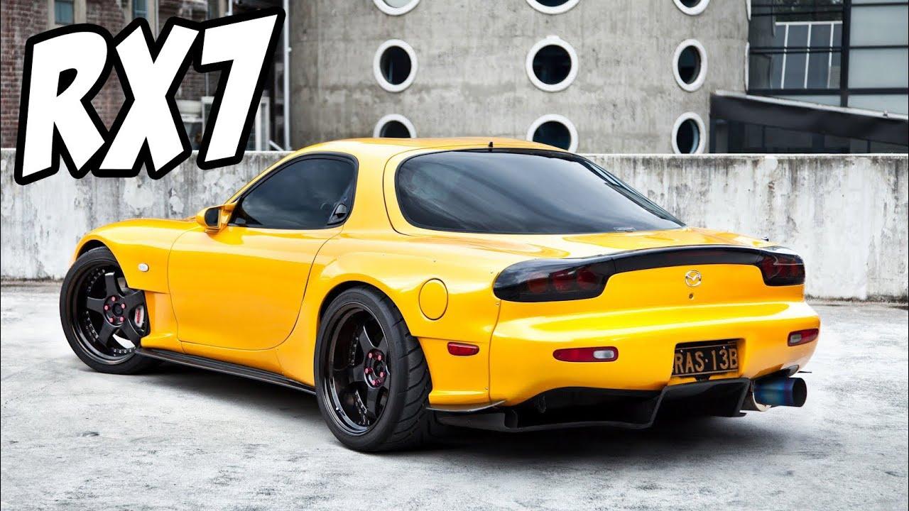 Mazda RX7 Compilation | Backfire - Dynos - Flybys - YouTube