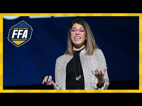 Michelle Poler Keynote | 2019 National FFA Convention & Expo ...