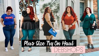 Plus Size Try On Haul - DebShops