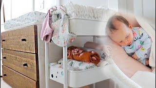 "How I Organize My Bedroom With A Newborn | ""Nursery Tour"""