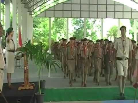 พิธีสวนสนามลูกเสือสามัญรุ่นใหญ่โรงเรียนประทาย