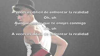 Hard 2 Face Reality- Justin Bieber ft Poo Bear - Letra traducida al español-