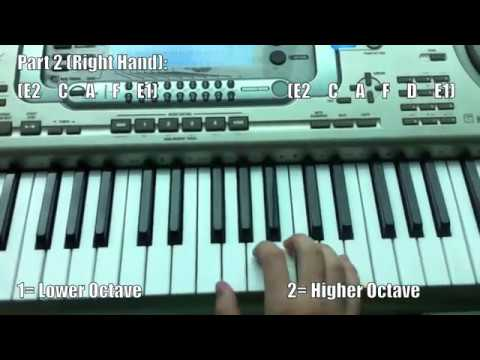Famous Techno beats & riffs Piano Tutorial