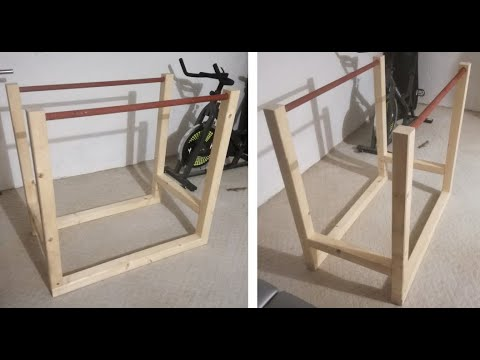 DIY Simple Parallel Bars (in two hours) // DIY Home Gym