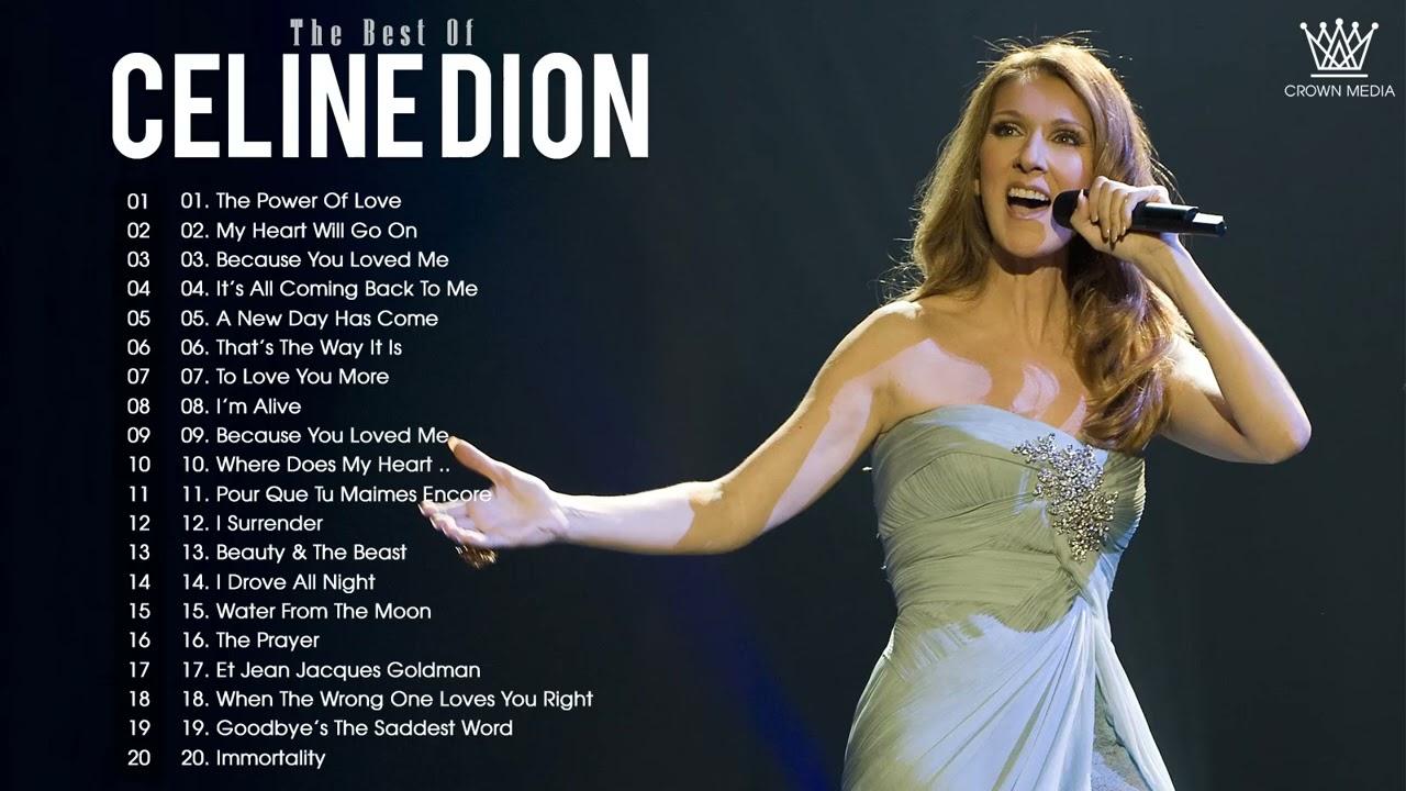 Download Celine Dion Greatest Hits Full ALbum 2021 - Celine Dion full Album 2021