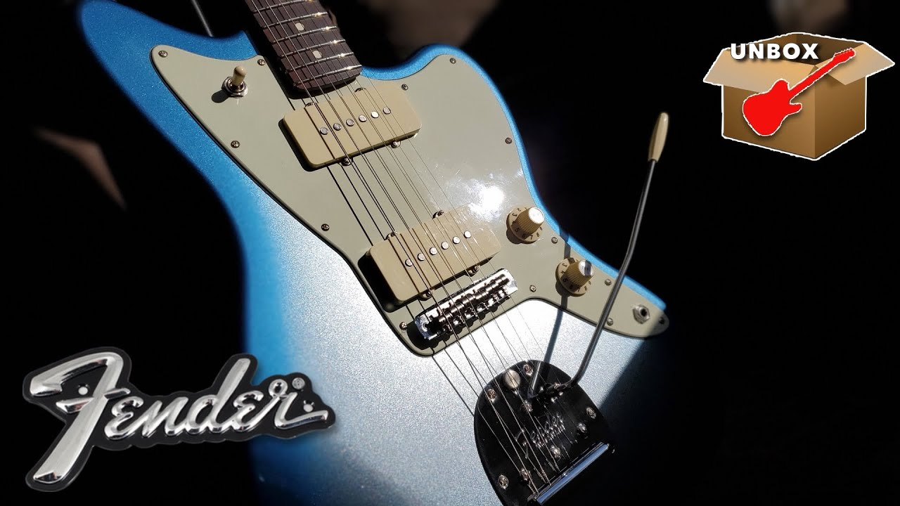 A Special New Guitar - Fender 2020 Limited Edition American Professional Jazzmaster Rosewood Neck