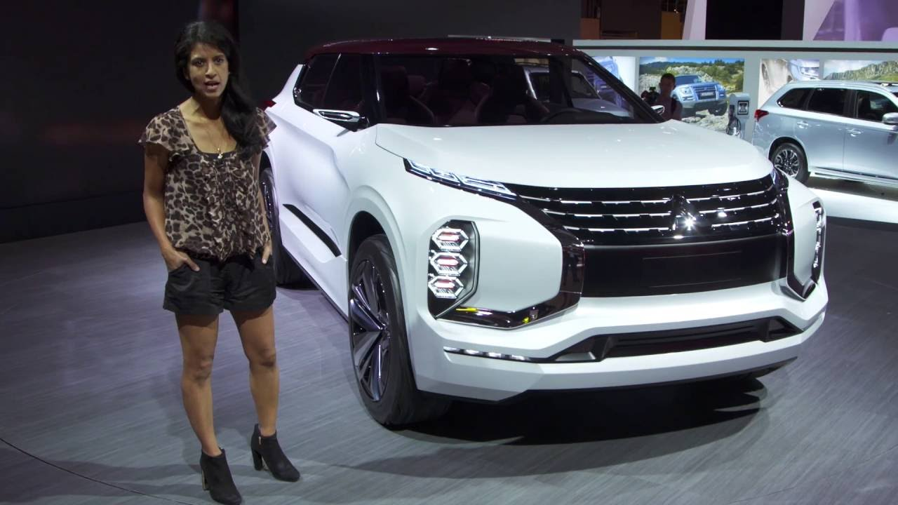 Mitsubishi GT-PHEV Concept - Paris Motor Show 2016 - YouTube