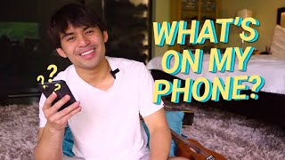 WHAT'S ON MY PHONE | Jimuel Pacquiao