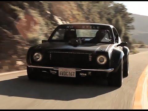 "2014 Toyota Corolla For Sale >> The Cobra-Blown, Lexus V8 Swapped ""No Style"" '75 Corolla - YouTube"