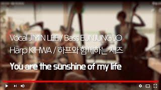 YOU ARE THE SUNSHINE OF MY LIFE (VOCAL)JIMIN LEE 이지민 /하프(HARP)KIHWA기화 /(BASS) EUNJUNG JO 조은정