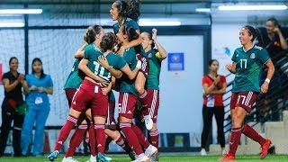 México vs Costa Rica 3-1 Resumen y Goles Fútbol Femenil Final Barranquilla 2018