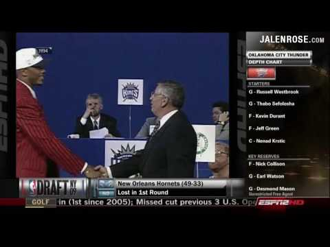 Jalen Rose Draft Suit - 1994 NBA Draft