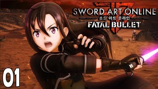 Sword Art Online Fatal Bullet Part 1 KIRITO MODE Gameplay Walkthrough