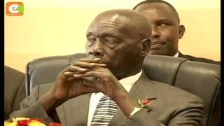 VIDEO: Retired President Moi dragged in a prime city land dispute
