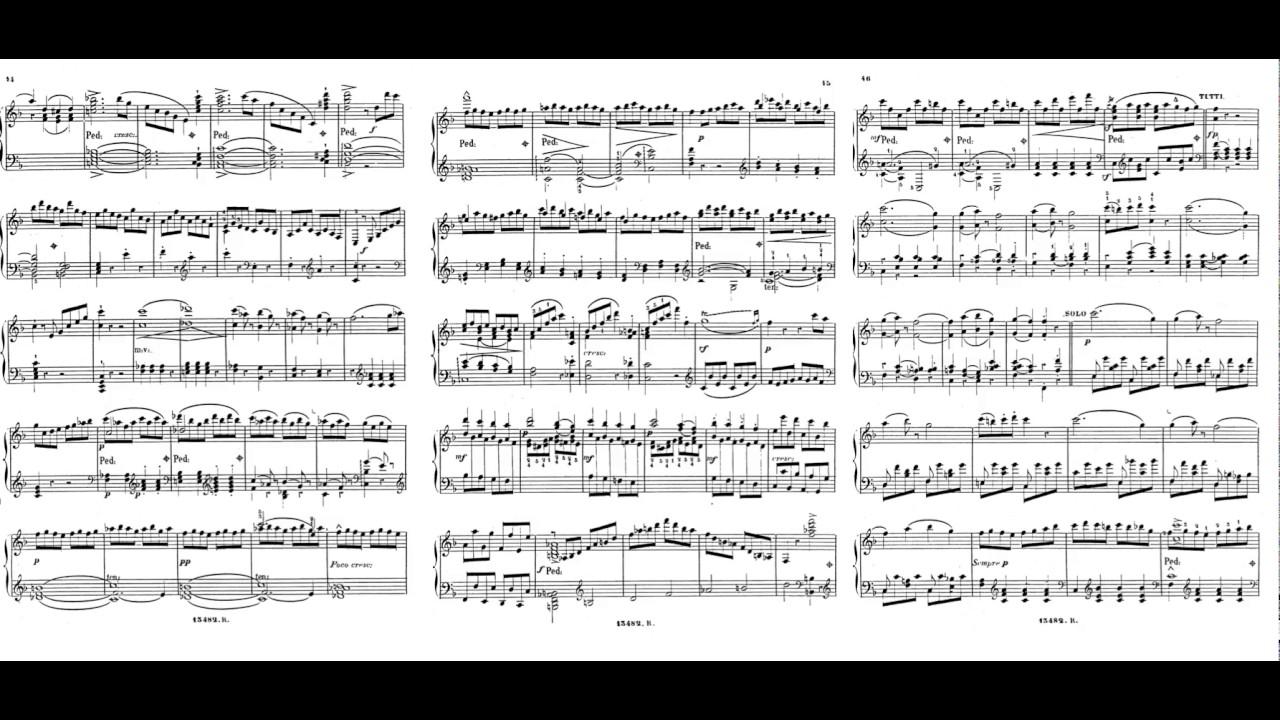Mozart-Alkan: Piano Concerto No.20 in D minor K.466 mov.3 transcribed for  solo piano - YouTube