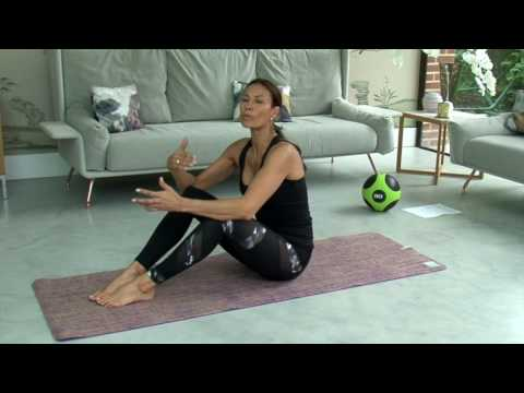 Melanie Sykes Ab Workout