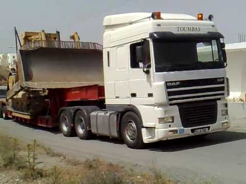 daf xf ftt 530 d10n heavy haulage cyprus youtube. Black Bedroom Furniture Sets. Home Design Ideas