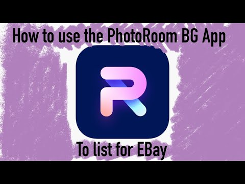 How I Use The PhotoRoom BG App To Help List For EBay IPHONE ONLY