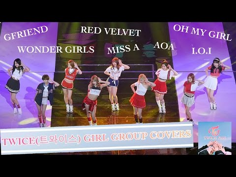 TWICE(트와이스) DANCING TO GIRL GROUP SONGS