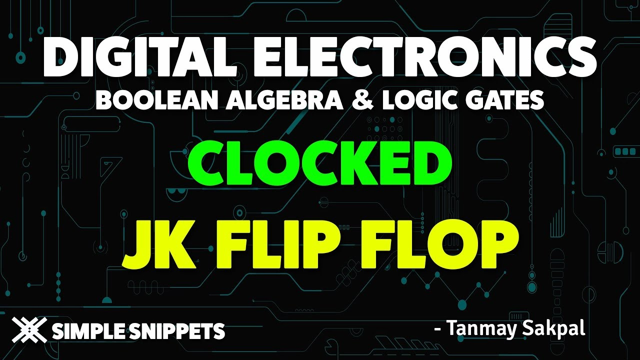 Clocked Jk Flip Flop Using Nand Gates With Truth Table And Circuit Logic Wiring Diagram