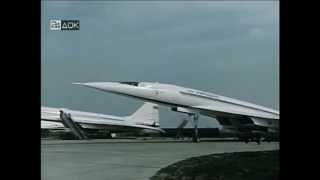 Tupolev Tu-144 Soviet supersonic airliner