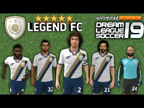 👑 Legend 👑 players profile dat in Dream League Soccer 2018 download now  enjoy