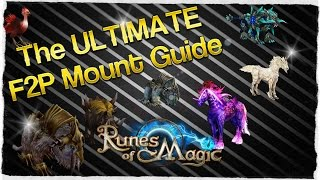 Runes of Magic - The Ultimate F2P mount guide
