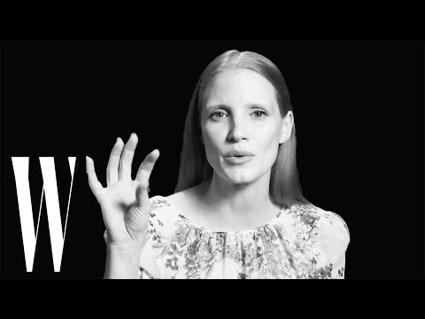 Jessica Chastain on Why The Kardashians Inspired Her 'Molly's Game' Role | Screen Tests | W Magazine