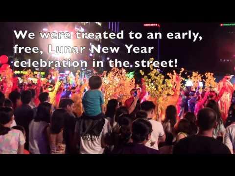 Saigon Vietnam Lunar New Year 2017