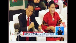 Download Video Asyiknya 'Goyang Dayung' Jokowi saat Via Vallen Nyanyi di Opening Asian Games 2018 - BIS 19/08 MP3 3GP MP4