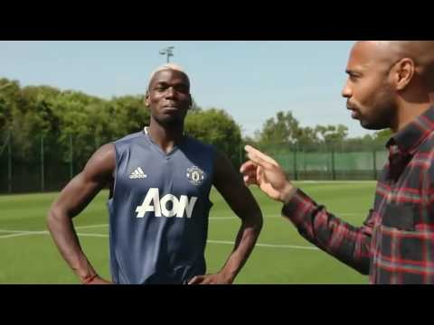 Thierry Henry meets Paul Pogba- Extended interview  (Subscribe)