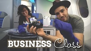 Flying Business Class | LOT Polish Airlines