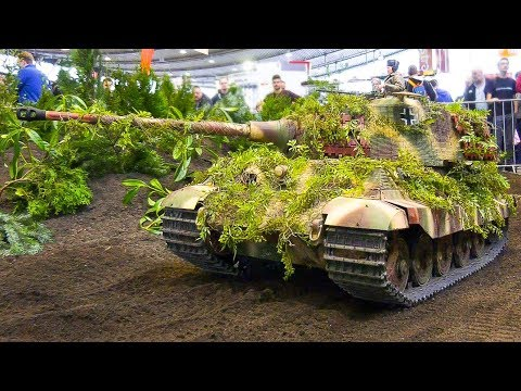 RC SCALE MODEL TANKS, RC MILITARY VEHICLES, CONSTRUCTION IN DETAIL AND MOTION!!