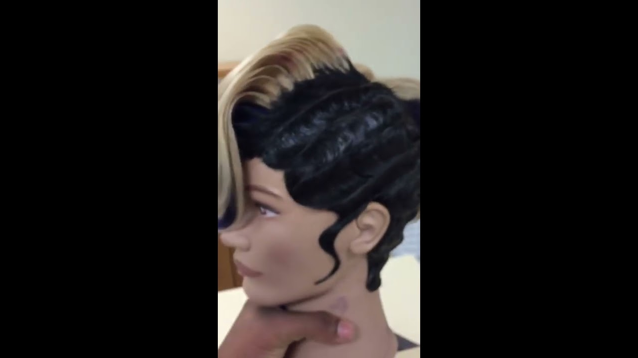Finger Wave Quick Weave Youtube