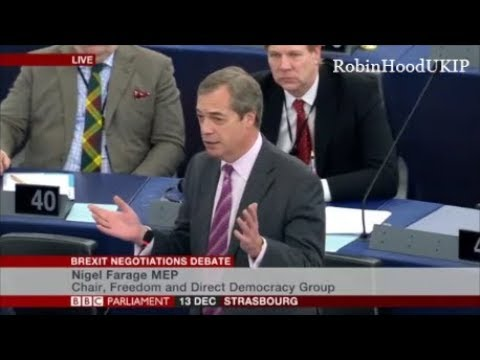 """Nigel Farage calls May """"Theresa the appeaser"""""""