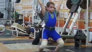 Маклаков Тимур, 13 лет вк 46 Толчок 56 кг