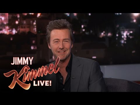 Edward Norton on His Oscar Nomination