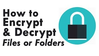 How to Encrypt & Decrypt Files or Folders Using Command Prompt