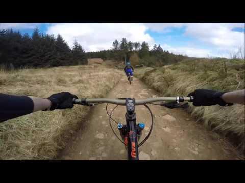 LadyBower MTB, The Beast, Screaming Mile & Alpine descent on the Orange Five Just Riders Group