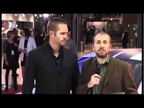 Fast & Furious 5 - Premiere italiana - Intervista a Paul Walker