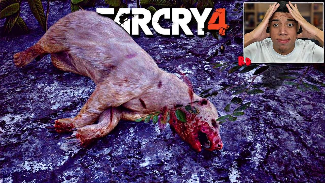 FAR CRY 4: CAÇANDO O ANIMAL MAIS PERIGOSO DO MUNDO! GULO, O RATEL RARO!