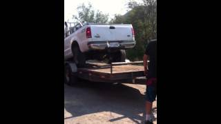 1998 Solid axel Chevy diesel to the rescue  for the dead powerstroke