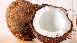 Как открыть кокос просто и быстро дома